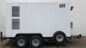 2013 Caterpillar 85 Kw Continuous Portable Natural Gas Genset Csdg 2319