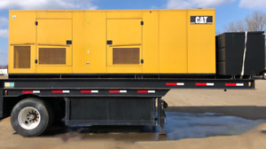 Caterpillar 500 Kw Portable Diesel Gen Cat C15 Epa Tier 2 Eng Csdg 2436