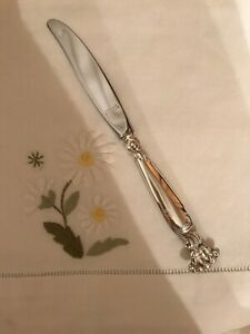 Wallace Romance Of The Sea Sterling Dinner Knife S 9 Post 1940 No Monograms