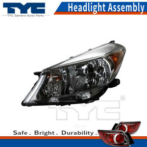 Tyc Headlight Assembly Driver Left For Toyota Yaris l 2 Door hatchback 2012 2014