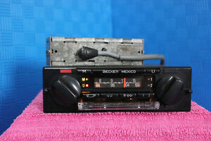 Rare Vintage Becker Mexico Cassette 374 With Amplifier 108mhz W107 W116 W124