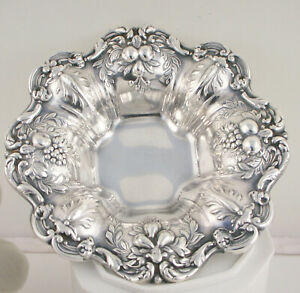 Reed Barton Sterling Silver Francis I 569 Nut Condiment Dish Bowl 3 1 4