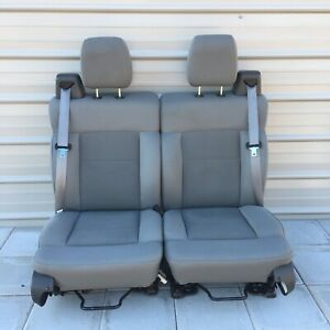 2004 2008 Ford F 150 Seat Drivers And Passenger Seat Cloth Gray Oem