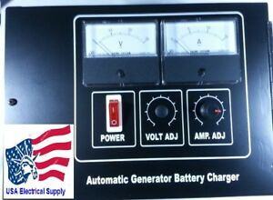 Automatic Generator Battery Charger Ch1924 24vdc 10amp