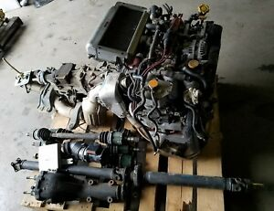 Jdm Subaru Gc8 Sti V Limited Ej207 Engine Swap Rear Diff Axles Ecu Ver 3 Impreza