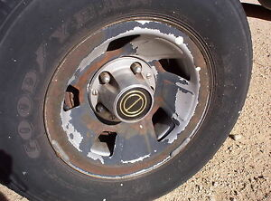4 Ford Truck Option Wheels 5 5 Bolt Circle 5 Lug Steel 73 79 F150 15 Bronco