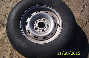 1998 Dodge Ram Pickup Truck Wheel 16 16x7 Steel Oem 5fs04trmac A Ford 5 5 Bc