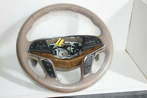 Oem 2016 19 Cadillac Ct6 Leather Steering Wheel W Shift Paddles 84374254