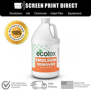 Ecotex Emulsion Remover Industrial Screen Printing Chemicals All Sizes
