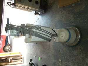 17 Inch Floor Scrubber With Shampoo Tank
