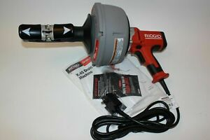 Ridgid K 45 Hand Held Drain Cleaner Corded Electric Autofeed