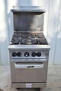 Vulcan 24s 4bn Endurance Natural Gas 4 Burner 24 Range With Oven