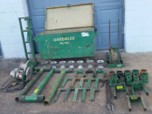 Greenlee 686 Cable Wire Puller Tugger Winch W Extras Nashville Tn