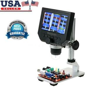 Portable 600x Lcd 3 6mp Electronic Digital Video Microscope For Mobile Phone Usa