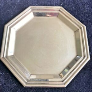 Designer 800 Coin Silver Tray From Italy