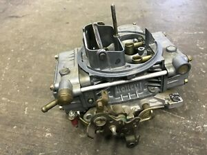 Carburetor Holley 600 Cfm 80455 7 Electric Choke Ford And Chevy