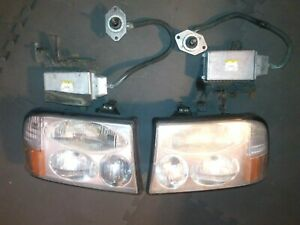 2000 2001 Gmc Jimmy Diamond Edition Or Envoy Hid Headlights Phillips Style Oem