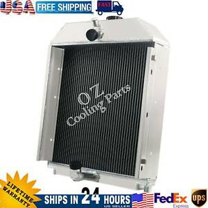 Tractor Radiator For Allis Chalmers Wc Wf Wd Wd45 Gas 70228587 70228585 Vpe3025