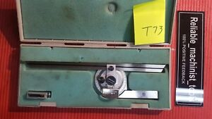 Japan Made Mitutoyo Vernier Protractor Machinist Tools t73
