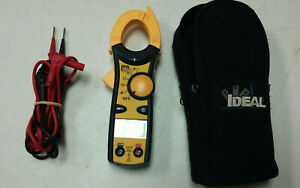 a Ideal 61 732 Clamp Meter t 18321