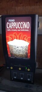 Curtis Primo Cafepc 3 Commercial 3 Flavor Cappuccino Hot Chocolate Machine
