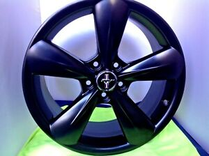 Ford Mustang Gt 2013 2014 Set Of 4 Oem 18 Wheels Set 4 Black 3907 Dr331007ca