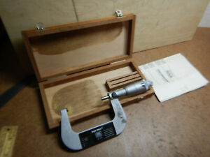 Older Brown And Sharpe Digit Mike Micrometer 599 30 10 1 Swiss Made Machinist