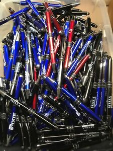Lot Of 100 Cedar Crest Yukon Metal Misprint Ink Pens 1 10 Retail Twist Stylus