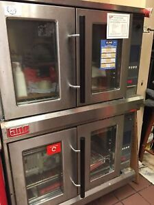 Excellent Condition Two Lang Oven For Sale