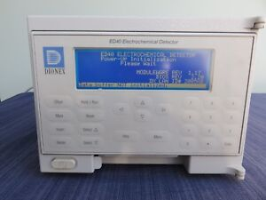 Dionex Ed40 Laboratory Hplc Electrochemical Conductivity Detector Guaranteed 061