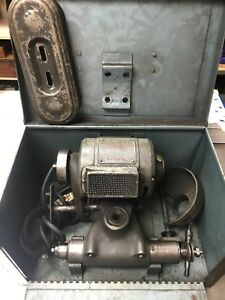 Dumore No 5 Tool Post Grinder Model 8010 210 5 Hp In Factory Case 115v