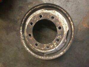97 International 4700 Used 19 5 8 Lug Steel Wheel Only Free Shipping