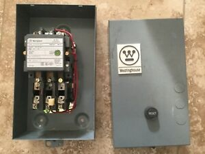 Westinghouse B200m2cx Size 2 Motor Control Starter Contactor New Old Stock
