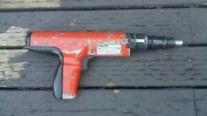 Hilti Dx350 Powder Actuated Piston Drive Nail Gun