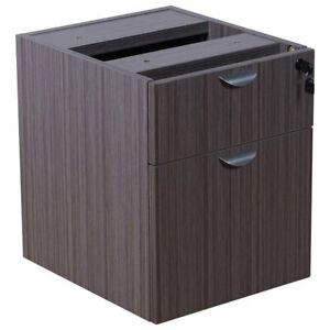 Boss Office Holland 2 Drawer Hanging Pedestal File Cabinet