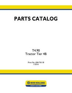 New Holland T4 90 Tractor Tier 4b Parts Catalog