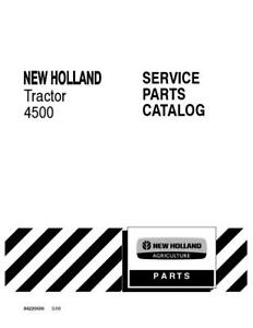 New Holland 4500 Tractor Parts Catalog