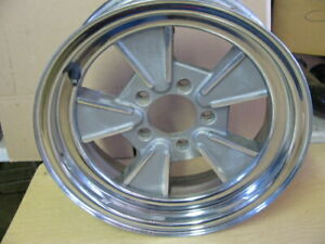 Vintage Fenton Hawk Mag Wheel 15x 5 5 4 3 4 Chevy Bolt Pattern Original