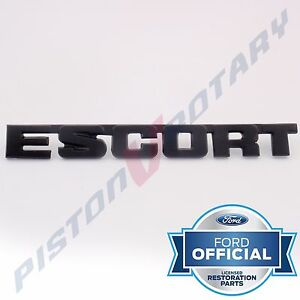 Escort Boot Lid Badge New For Ford Rs2000 Mkii Mk2 Mk 2 Bootlid Trunk Rs 2000