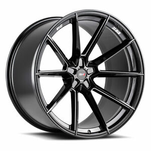 20 21 Savini Sv f4 Forged Black Concave Wheels Rims Fits Lamborghini Urus