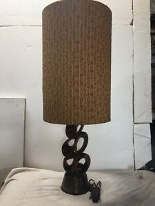 Mid Century Danish Modern Sculptural Table Lamp