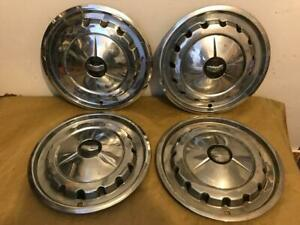 1957 Vintage Chevrolet Hub Caps Wheel Covers