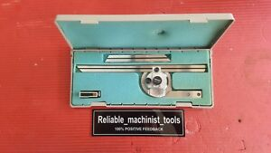 Japan Made Mitutoyo Vernier Protractor Machinist Tools