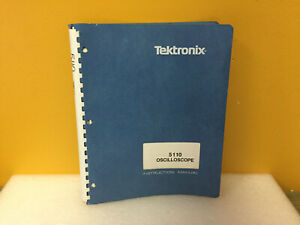 Tektronix 070 2134 01 5110 Oscilloscope Instruction Manual