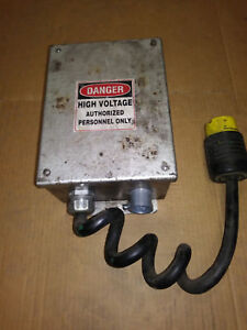High Voltage Junction Box With Pig Tail Plug