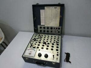 Nice Clean B k 550 Dynamic Mutual Conductance Tube Tester W 610 Test Panel