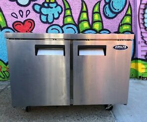 Grista Grucrf 48 Undercounter 48 Refrigerator Two Door s Section Used