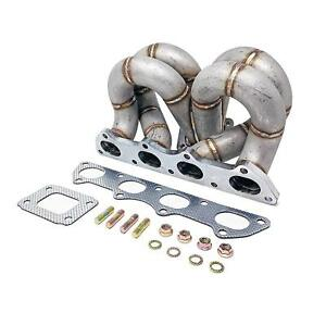 Rev9 Hp Equal Length Ram Horn Turbo Manifold T3 T4 T3 Ac Ps Honda B16 B18