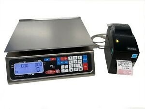 Torrey Pc40l Price Computing Deli Meat Scale W Godex Dt2 Label Printer shi