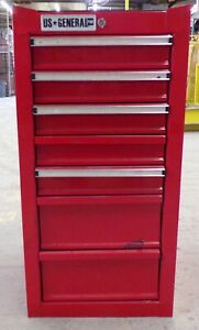 Us General Pro Tool Cabinet 68785 7 Drawer 18 X 17 1 4 X 33 1 2